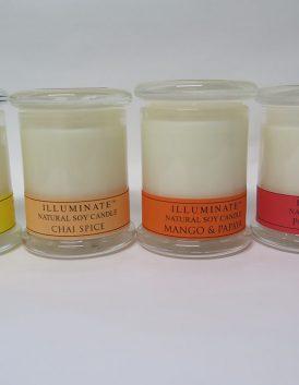 Illuminate soy candle