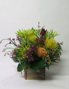 Native Box flower bouquet