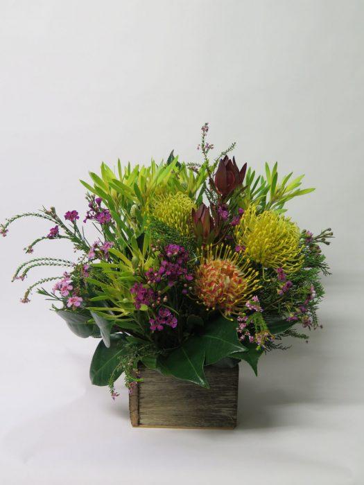 Native Box flower bouquet