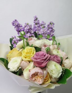 Soft tone bouquet