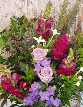 Mauve-Hand-Tied-Bouquet-Oatley